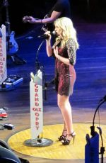 Jamie Lynn Spears Performing At Grand Ole Opry In Nashville
