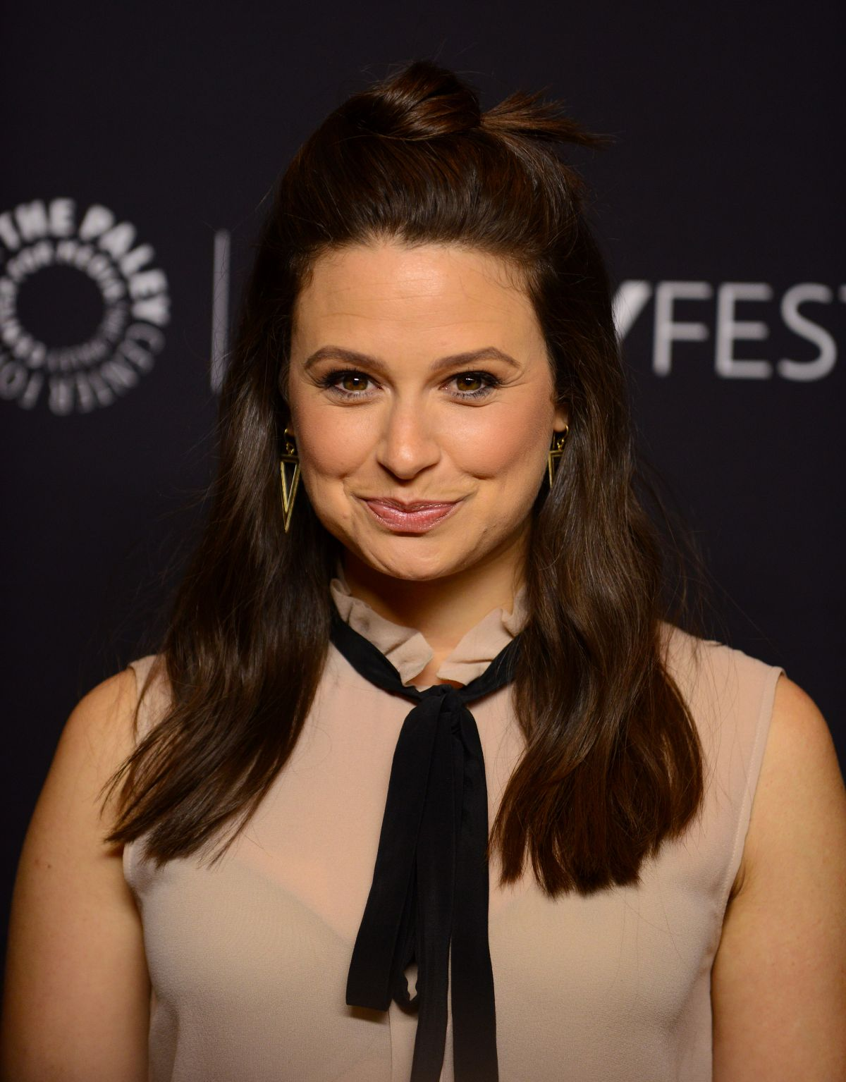 Katie Lowes At The Paley Center For Media