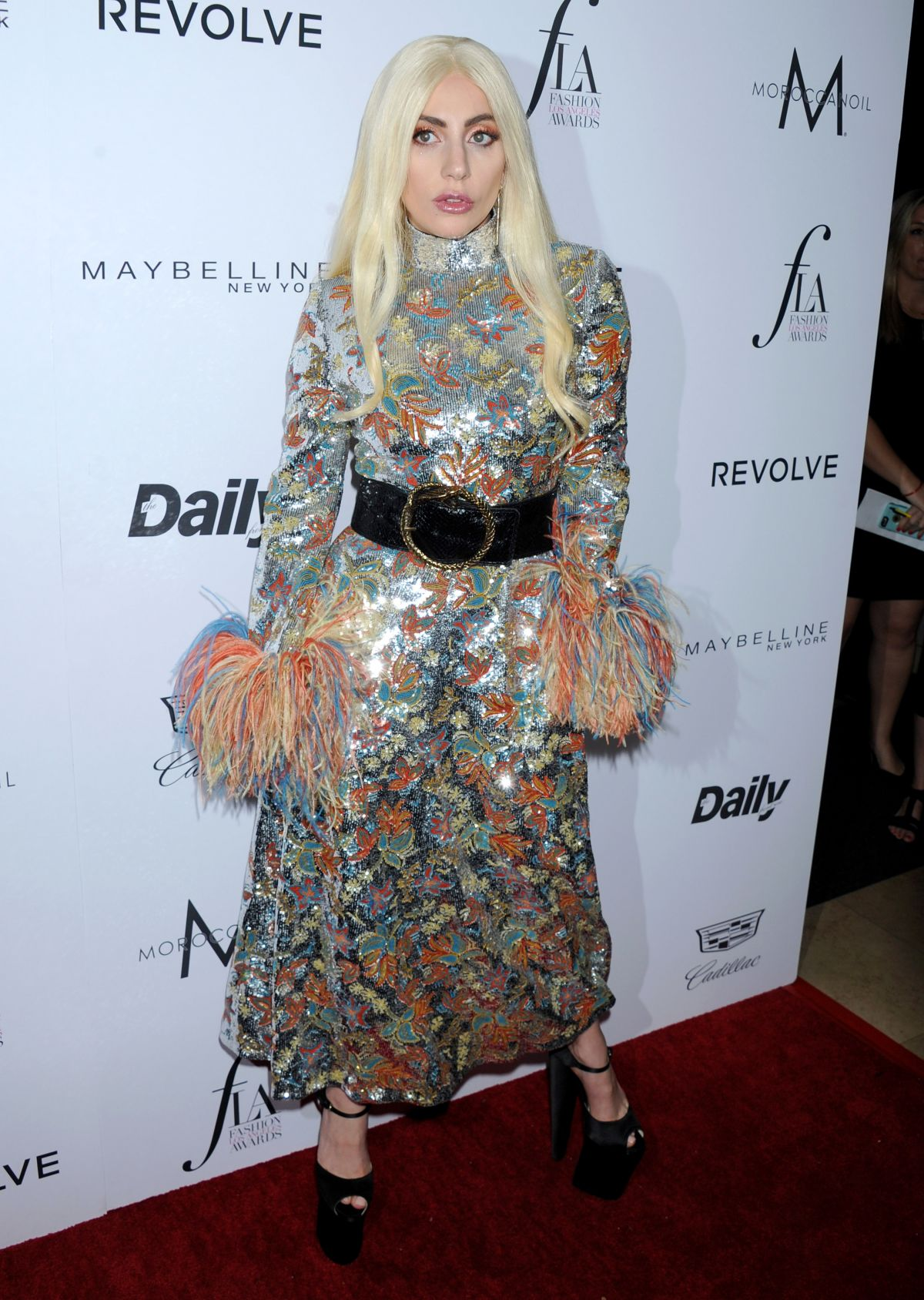 795f9ba40da7b Lady Gaga At The Daily Front Row Fashion Los Angeles Awards In West  Hollywood