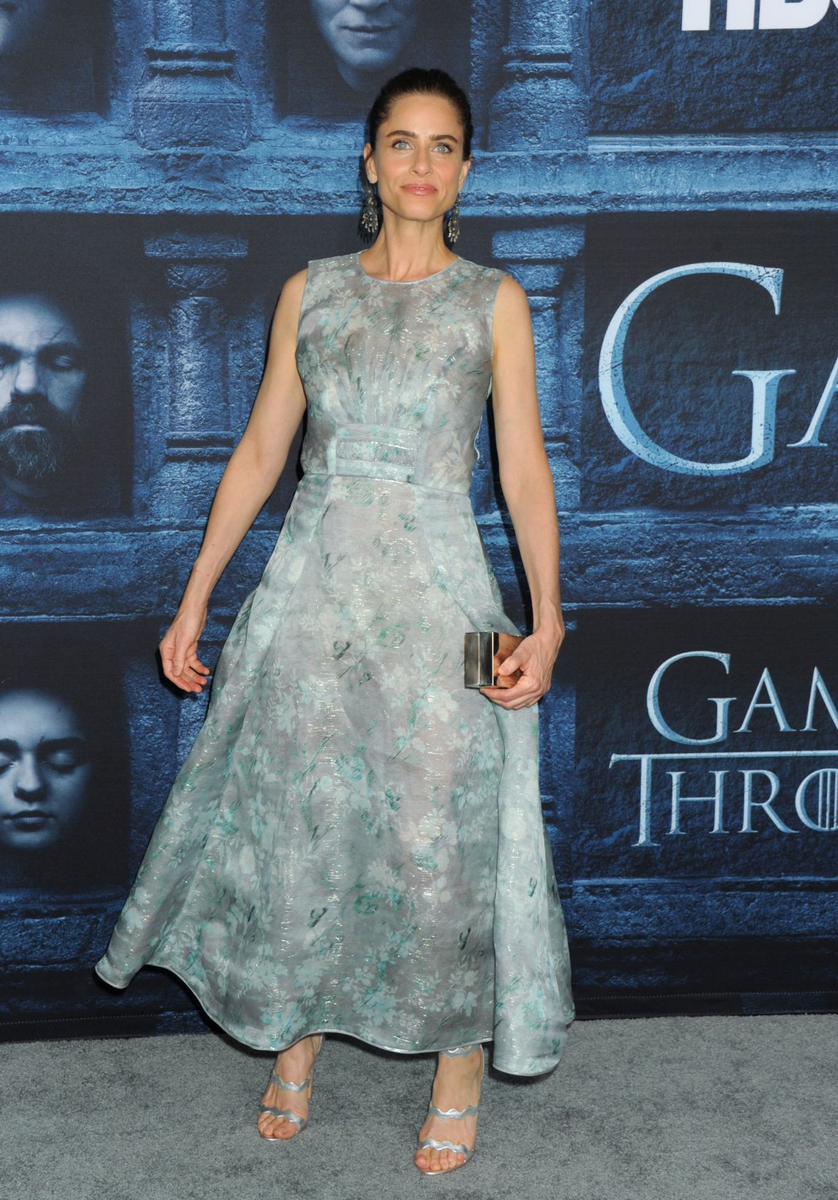 Amanda Peet At Game of Thrones Season 6 Premiere In LA ...