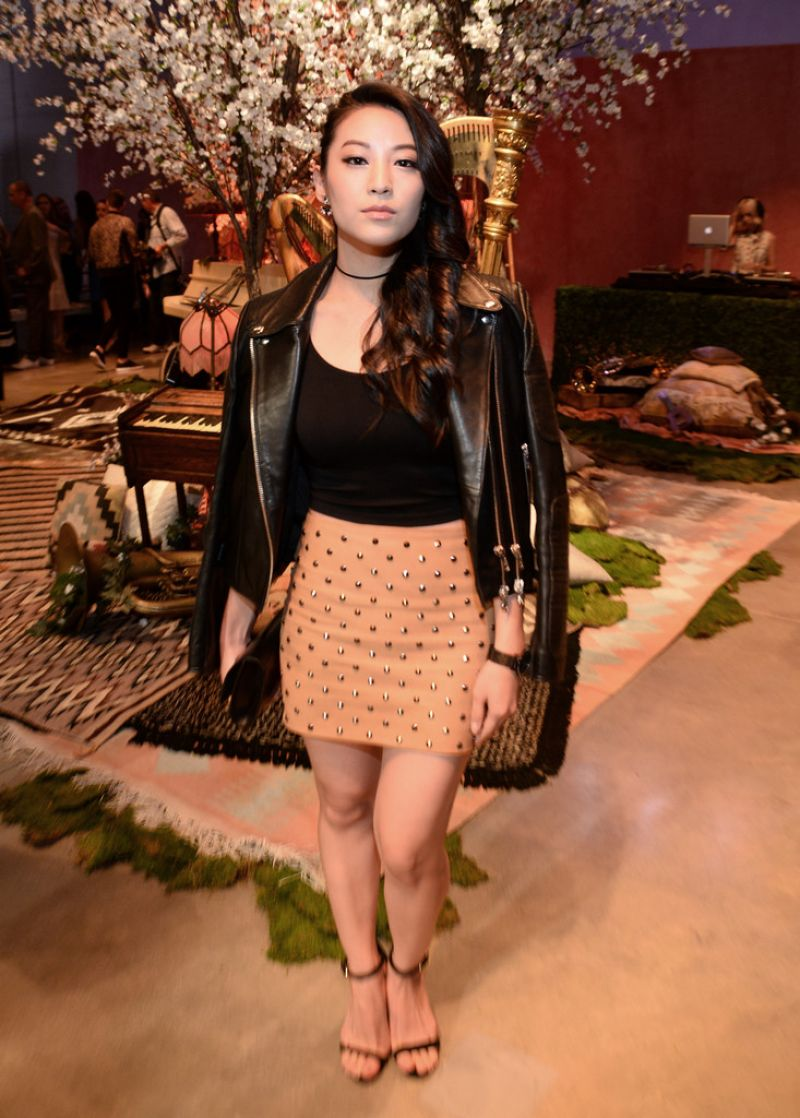 Arden Cho At alice + olivia by Stacey Bendet & Neiman Marcus See-Now-Buy-Now Runway Show In LA