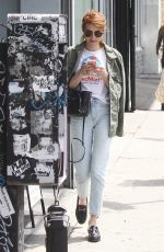 Emma Roberts Out And About In West Hollywood