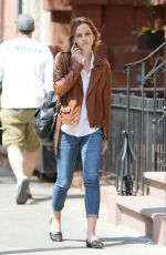 Emma Watson Out In The West Village