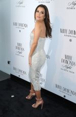 Eva Longoria At Elizabeth Taylor White Diamonds 25th Anniversary Celebration In NYC