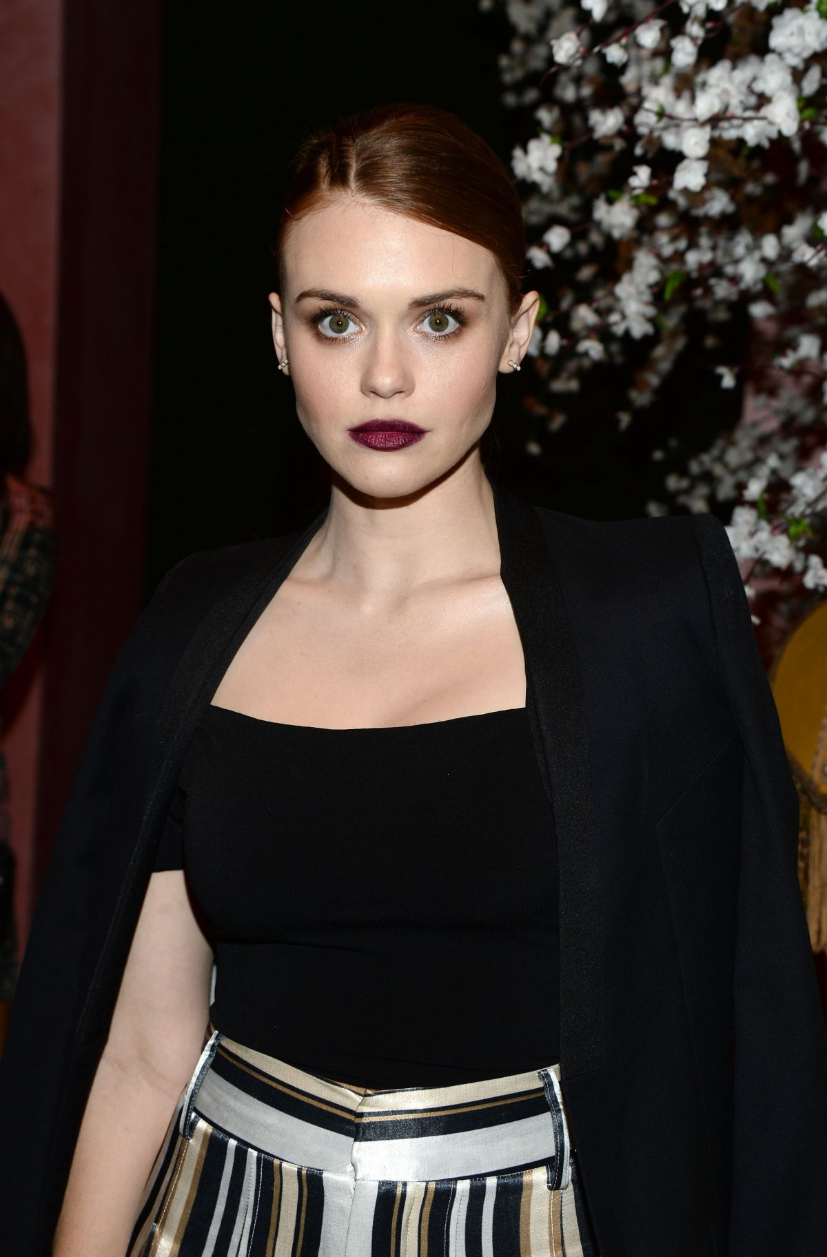 a3f31d49bcf Holland Roden At alice + olivia by Stacey Bendet and Neiman Marcus See-Now-