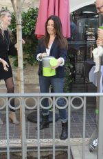 Holly Marie Combs At The Grove And TreePeople Celebrate Earth Day In Hollywood