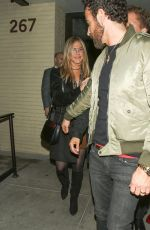 Jennifer Aniston Leaving The Palm Restaurant In Beverly Hills
