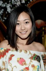 Karen Fukuhara At alice + olivia by Stacey Bendet & Neiman Marcus See-Now-Buy-Now Runway Show In LA