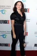 Kristin Davis At REFUGEE Exhibit At Annenberg Space For Photography In Century City
