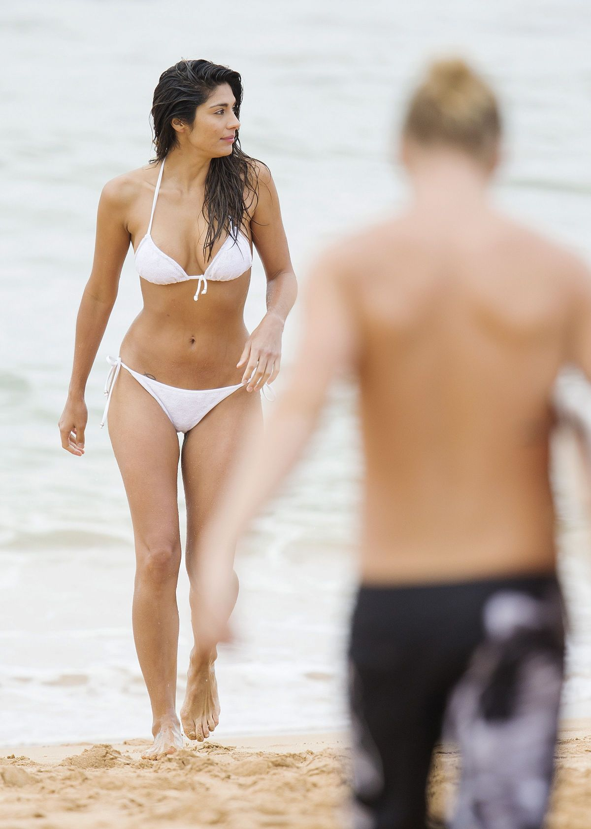 Pia Miller Wearing A Bikini While Filming 'Home and Away' In Sydney ...