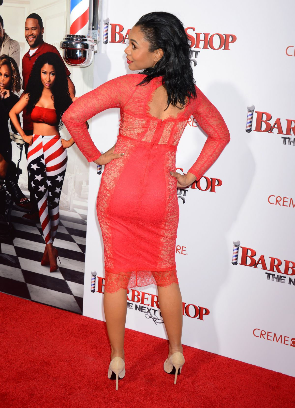 Regina Hall At Premiere Of Barbershop The Next Cut In