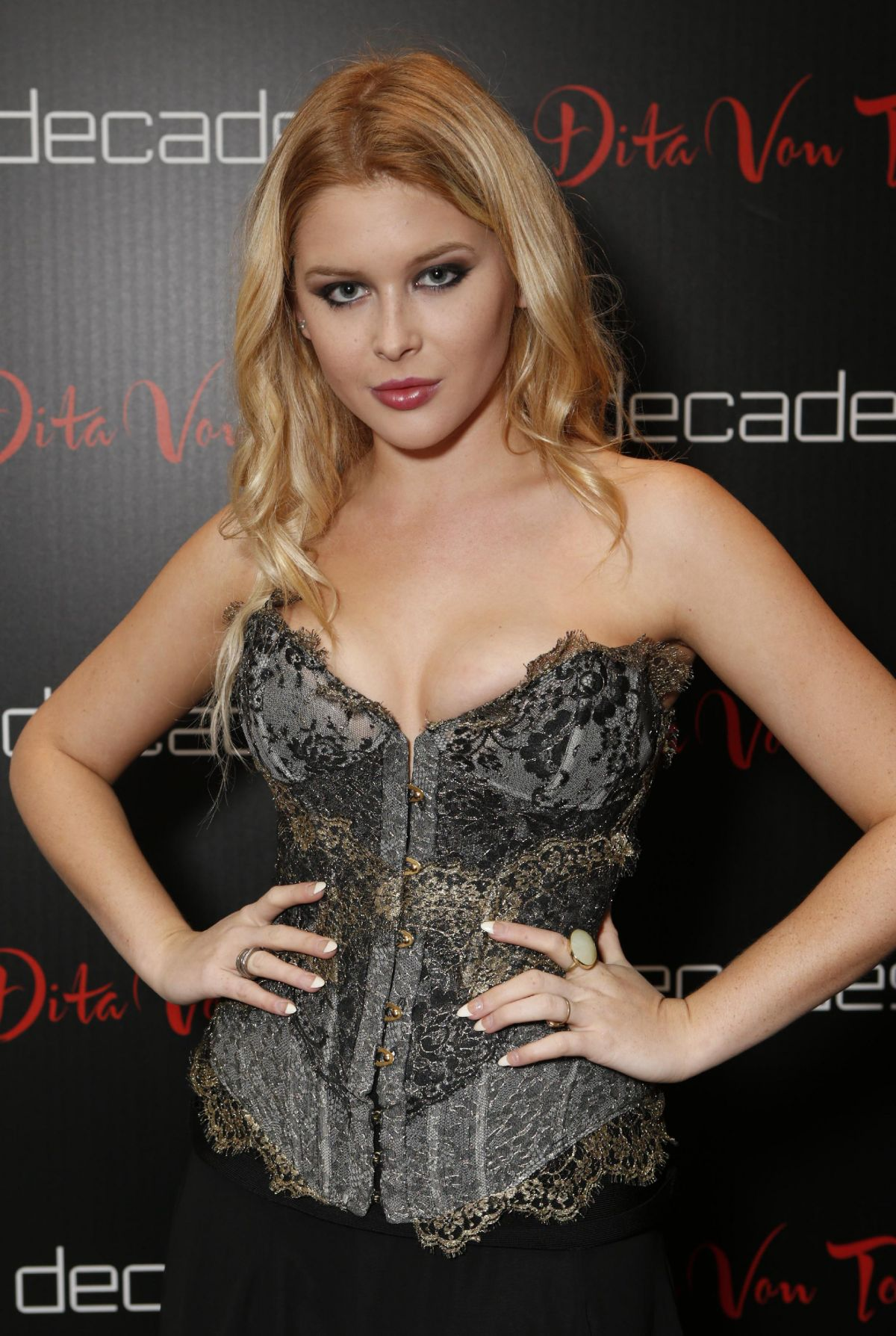 3ca3a015bfc6 Renee Olstead At Dita Von Teese Collection Launch Party - Celebzz