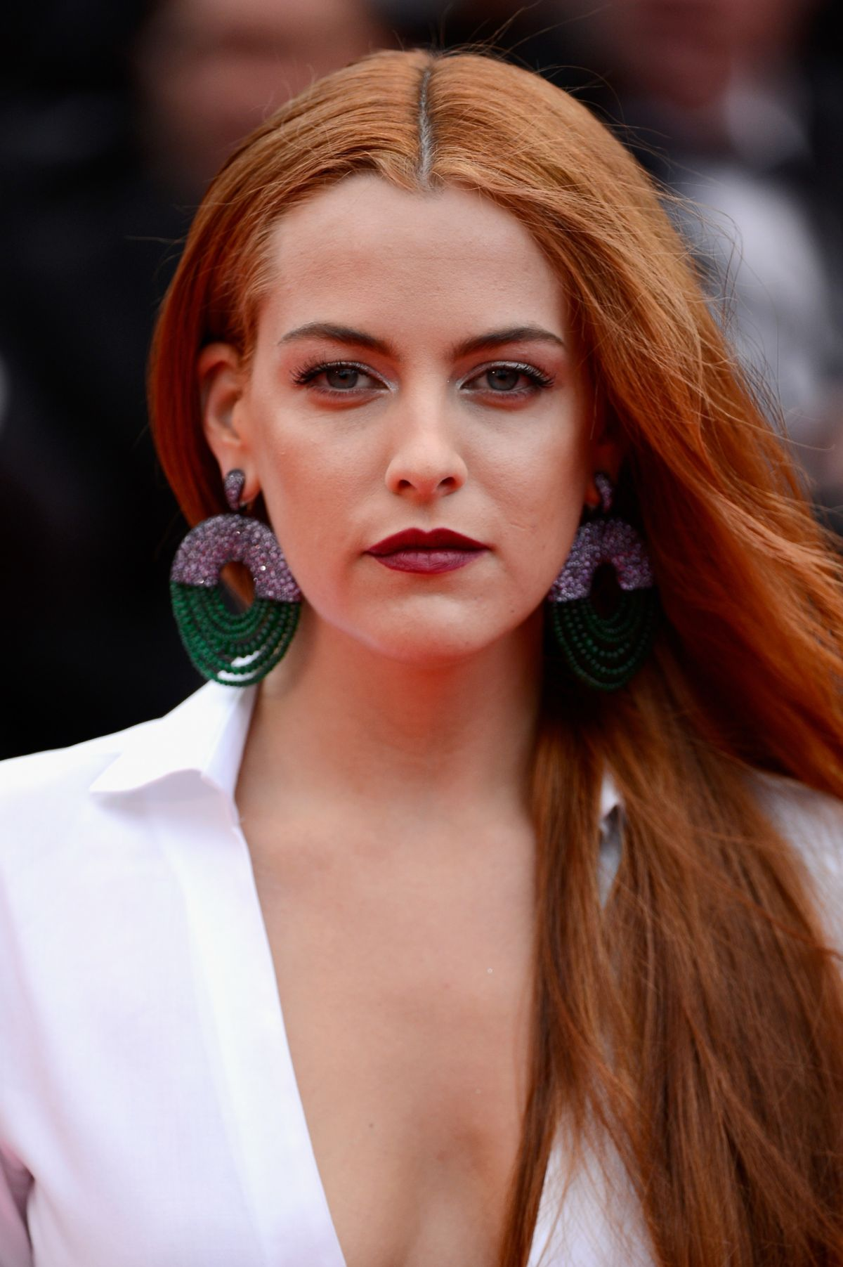 Riley Keough At 'Foxcatcher' Cannes Premiere - Celebzz ...