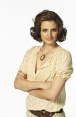 "Stana Katic At ""The Librarian: Curse of the Judas Chalice"" Promos"