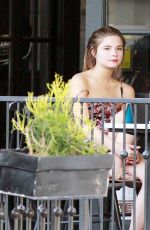 Stefanie Scott At Alfred Coffee In West Hollywood