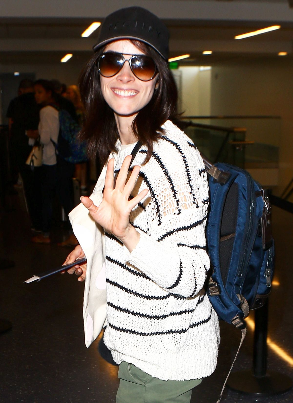 Abigail Spencer At LAX