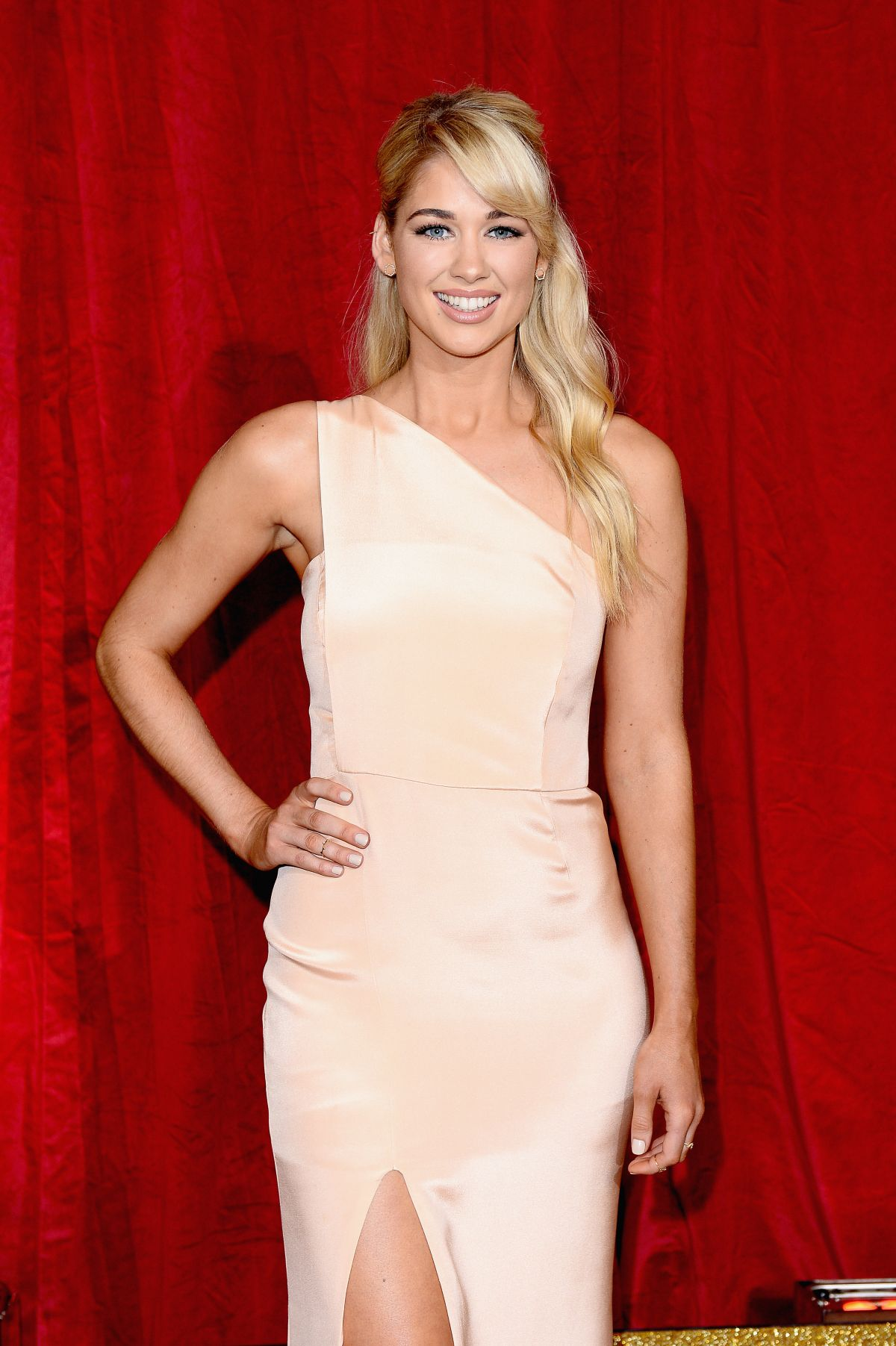 Amanda Clapham At British Soap Awards 2016 London