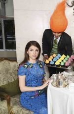 "Anna Kendrick At ""Trolls"" Tea At The Savoy In London"