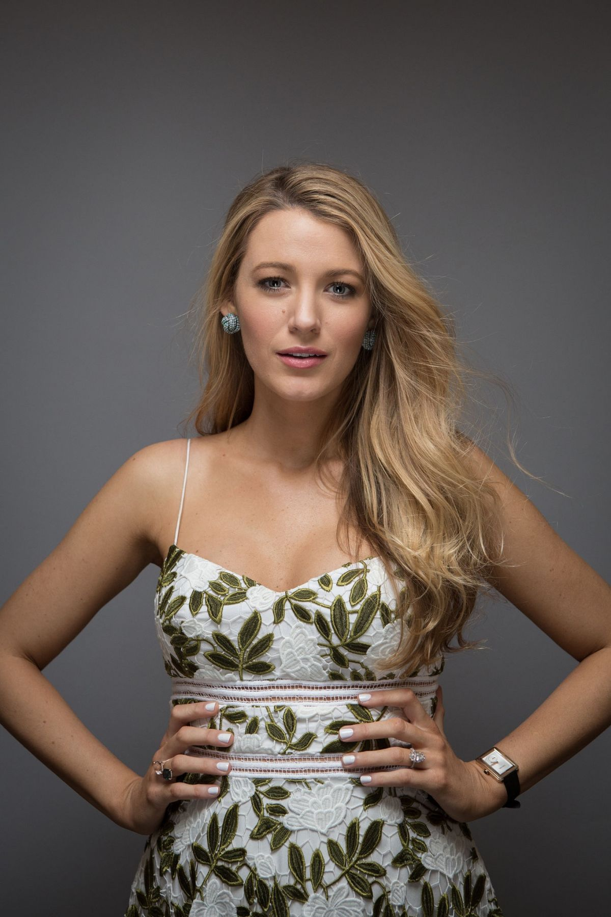 Blake Lively At Photoshoot for the Film Cafe Society ...