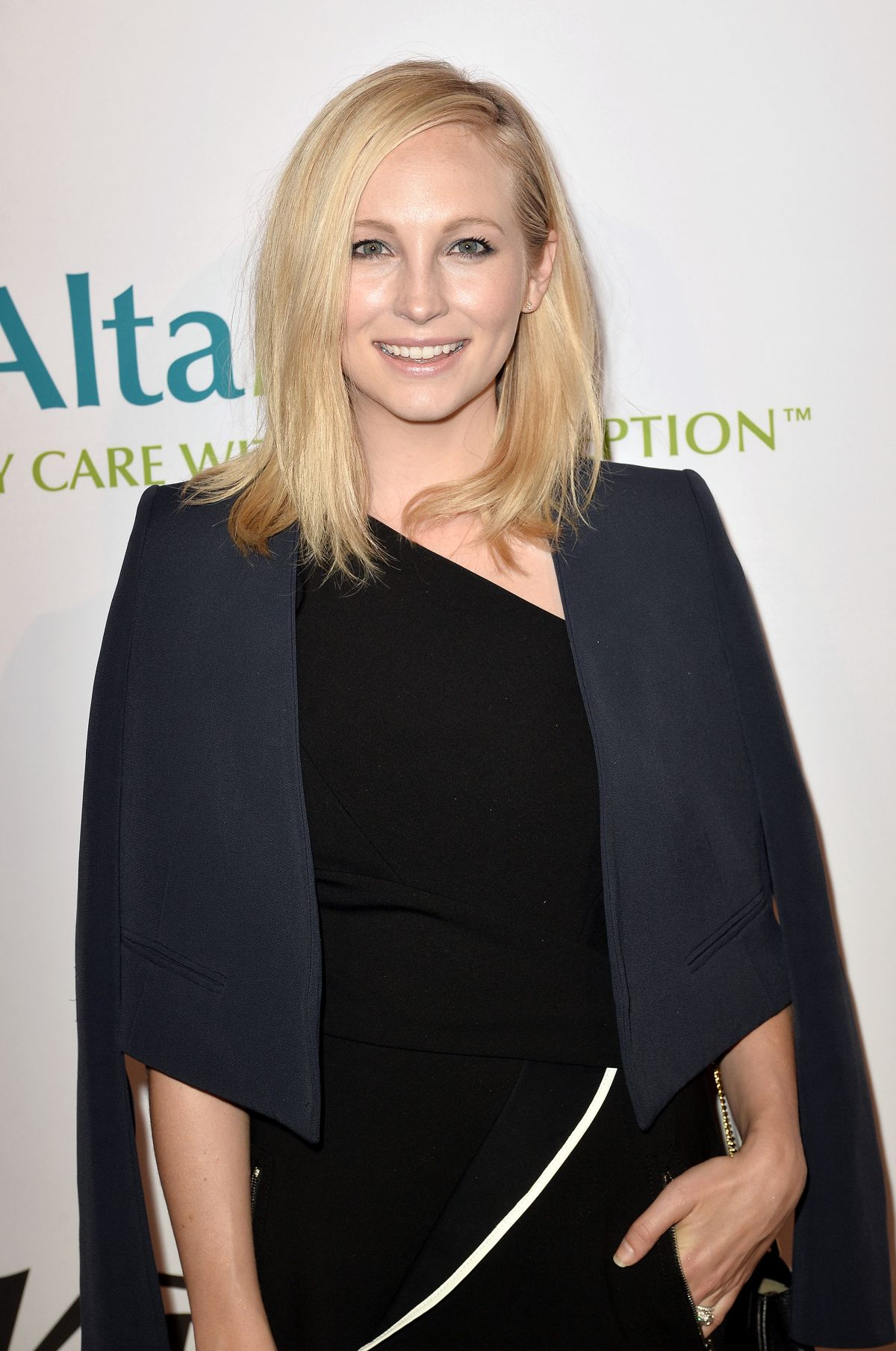 Candice Accola At AltaMed Health Services