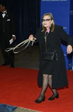 Carrie Fisher At 102nd White House Correspondents