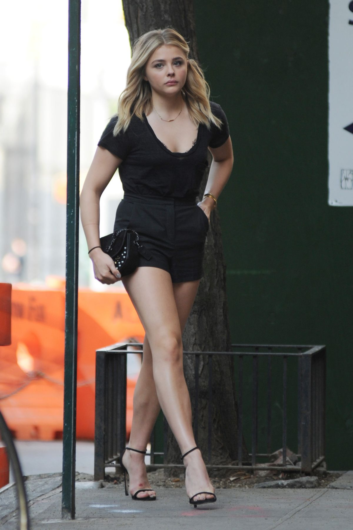 chloe grace moretz out in nyc - celebzz