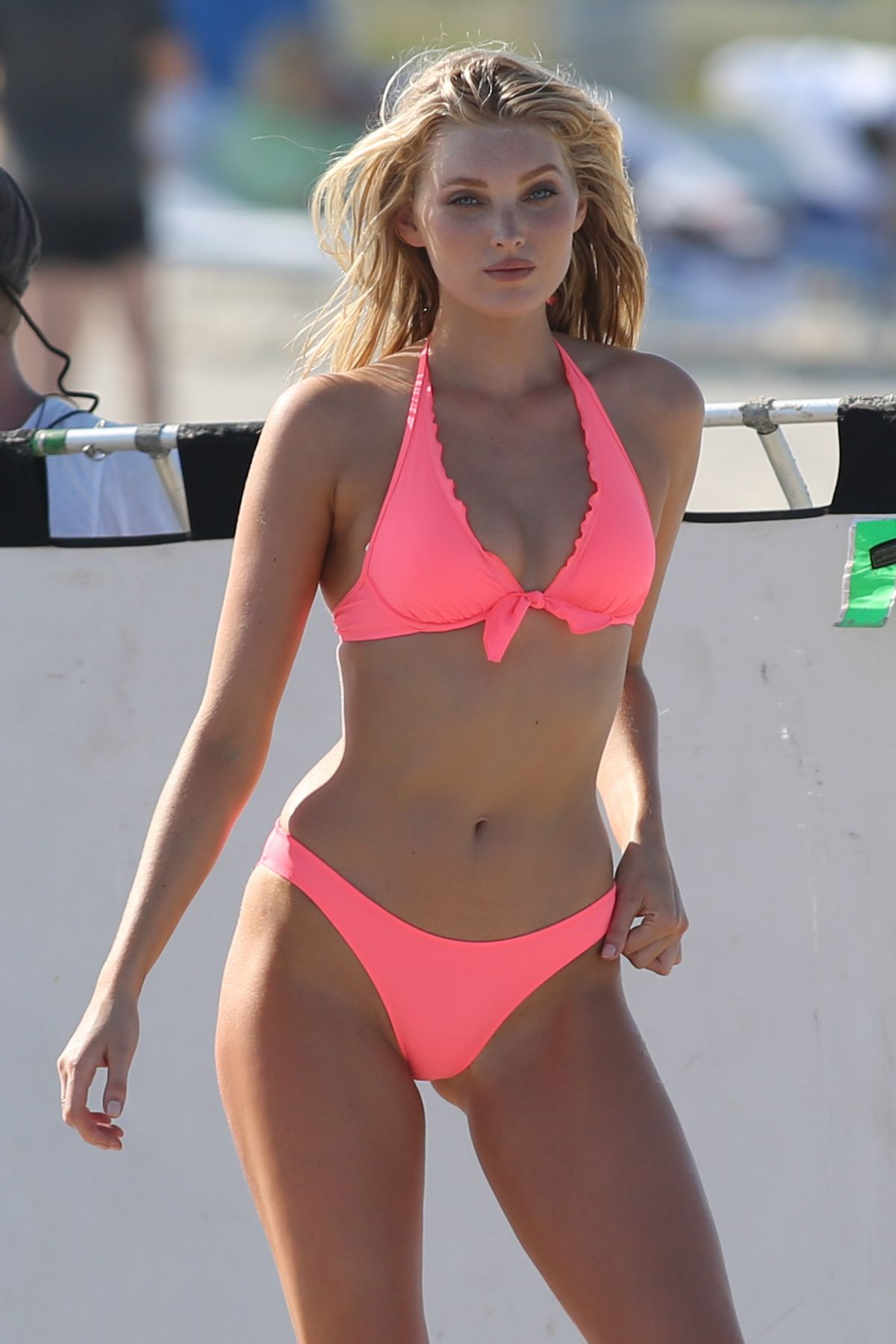 f1fff4886f208 Elsa Hosk In Bikini Candids On Set Of A Victoria s Secret Photoshoot In  Miami