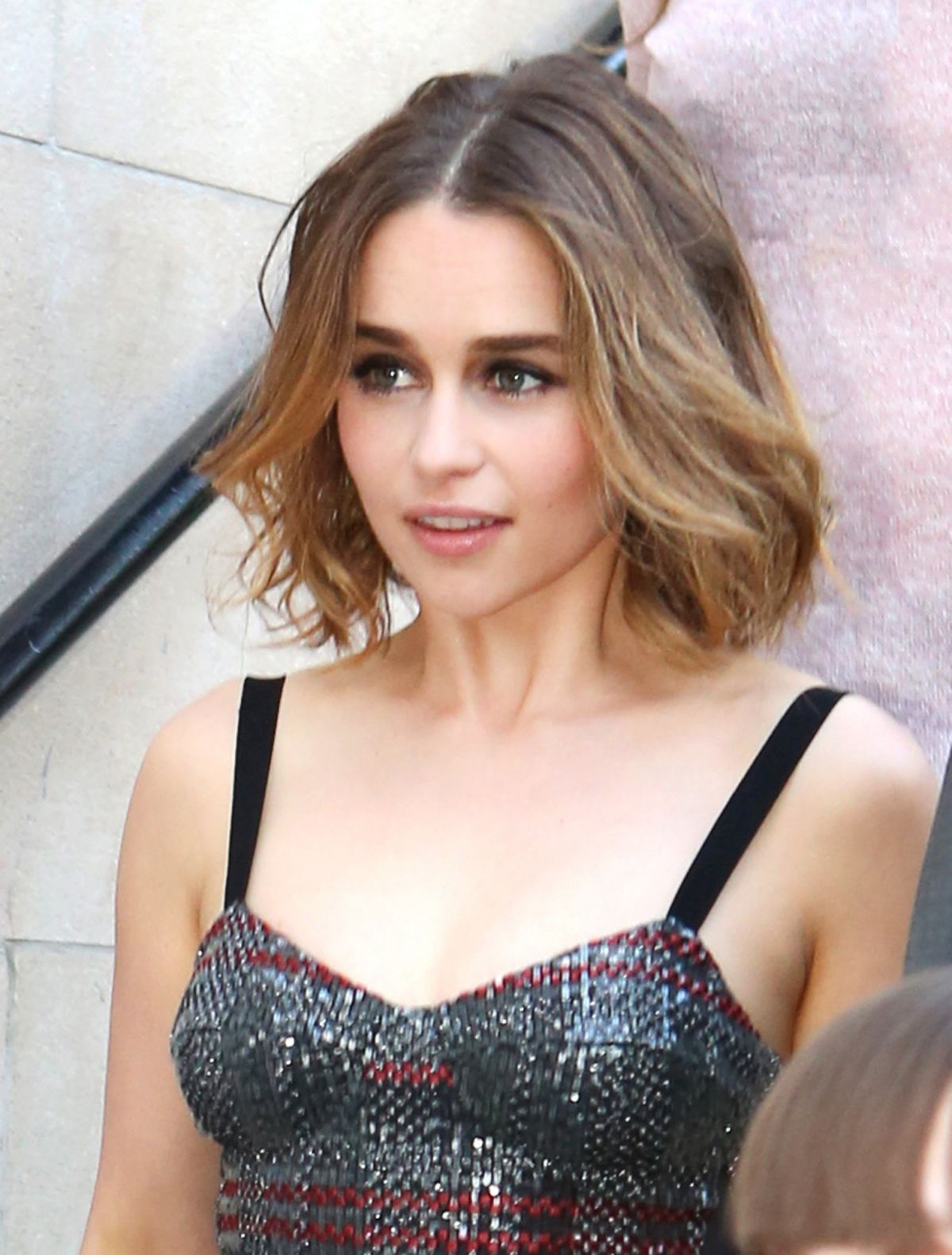 Emilia Clarke Promoting Me Before You In Toronto Celebzz