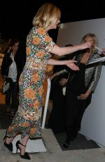 Kirsten Dunst Arriving At Vanity Fair by Chanel Party during 69th Cannes Film Festival