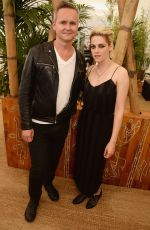 Kristen Stewart At Cafe Society Luncheon In Cannes