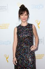 Maggie Siff At 37th College Television Awards In Los Angeles