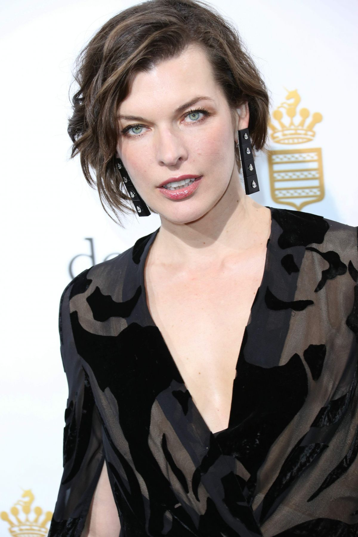 Milla Jovovich At De Grisogono Party, 69th Cannes Film ... Milla Jovovich