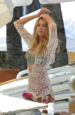 Stella Maxwell On The Set Of Victoria