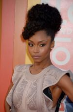Yaya DaCosta At The Nice Guys Premiere In Hollywood