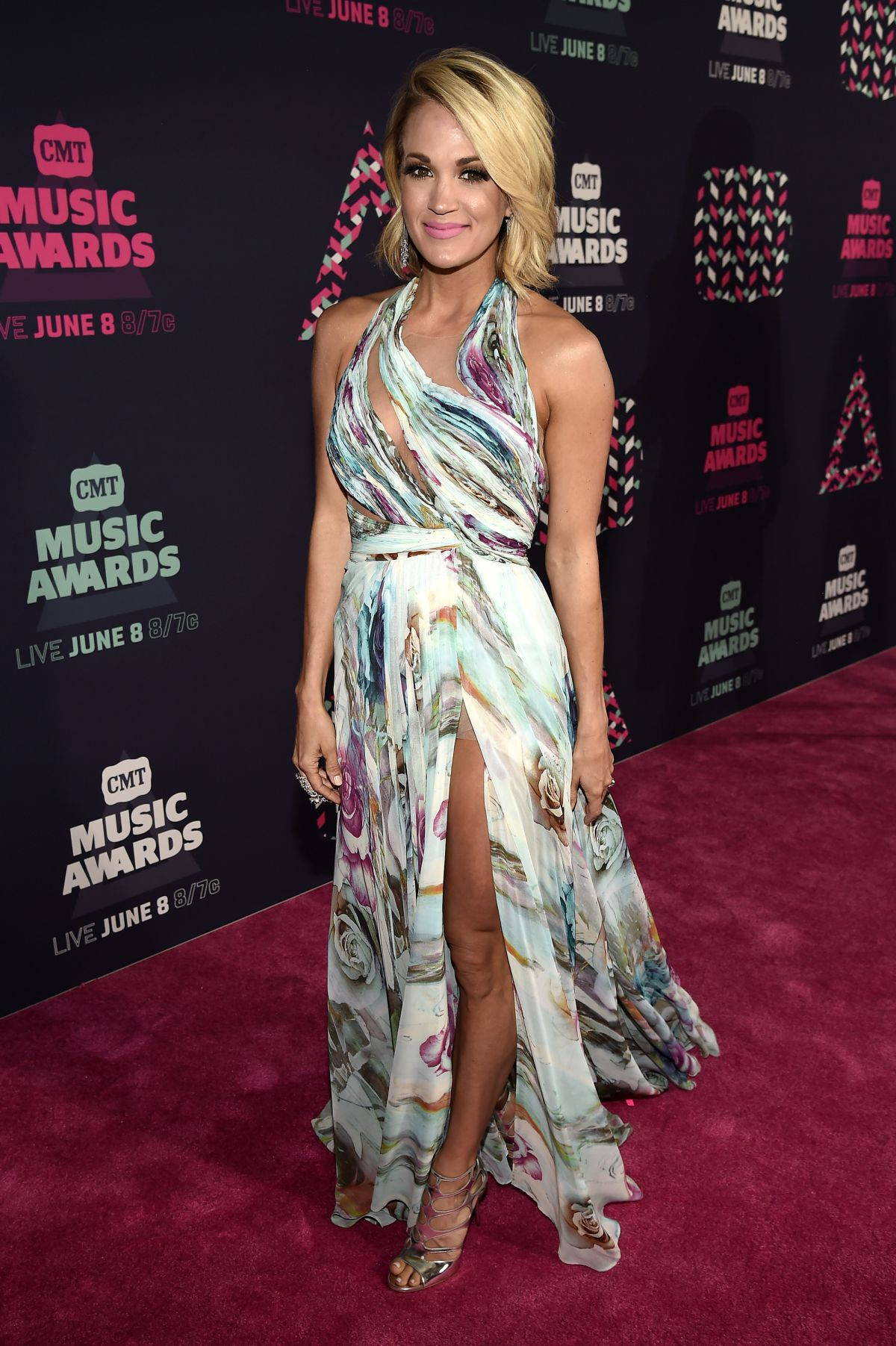 Carrie Underwood At 2016 CMT Music Awards In Nashville