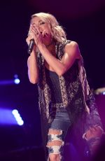 Carrie Underwood Performing At The 2016 CMA Music Festival In Nashville