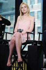 Elle Fanning At AOL Build Speaker Series In NYC