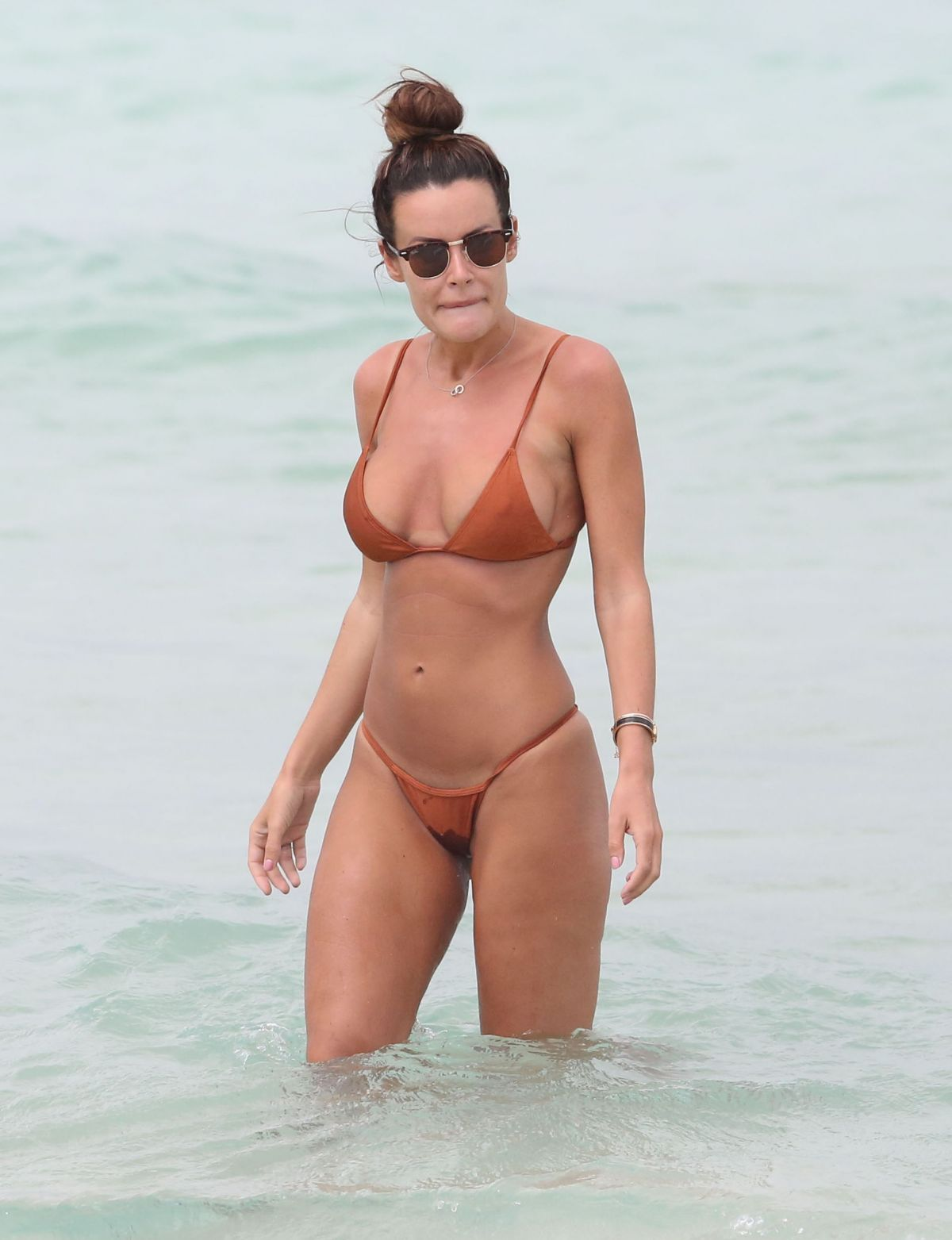 Emma Rose In Bikini On The Beach In Miami