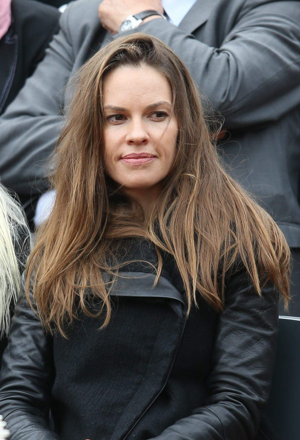 Hilary Swank Attends The Roland Garros French Open - Celebzz Hilary Swank