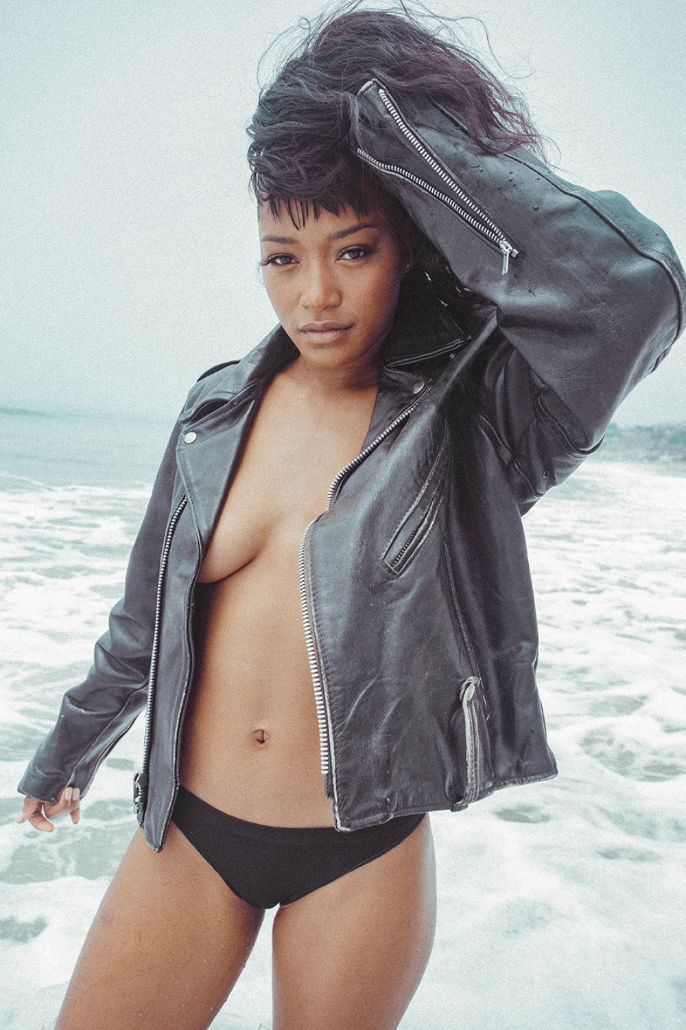 Keke Palmer At Beach Photoshoot May 2016 - Celebzz - Celebzz