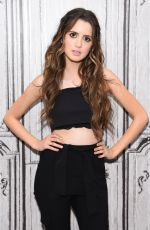 Laura Marano At AOL Build Series In NYC