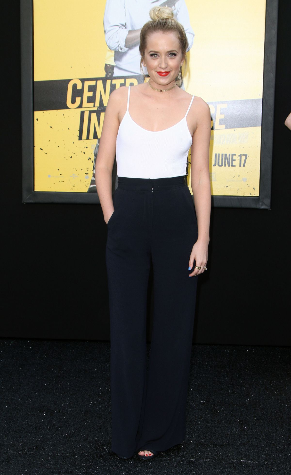 Megan Park At ''Central Intelligence'' Premiere In Westwood - Celebzz ...