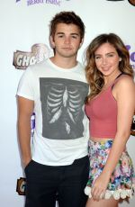 Ryan Newman At Ghost Rider Rides Again Event At Knotts Berry Farm In Buena Park