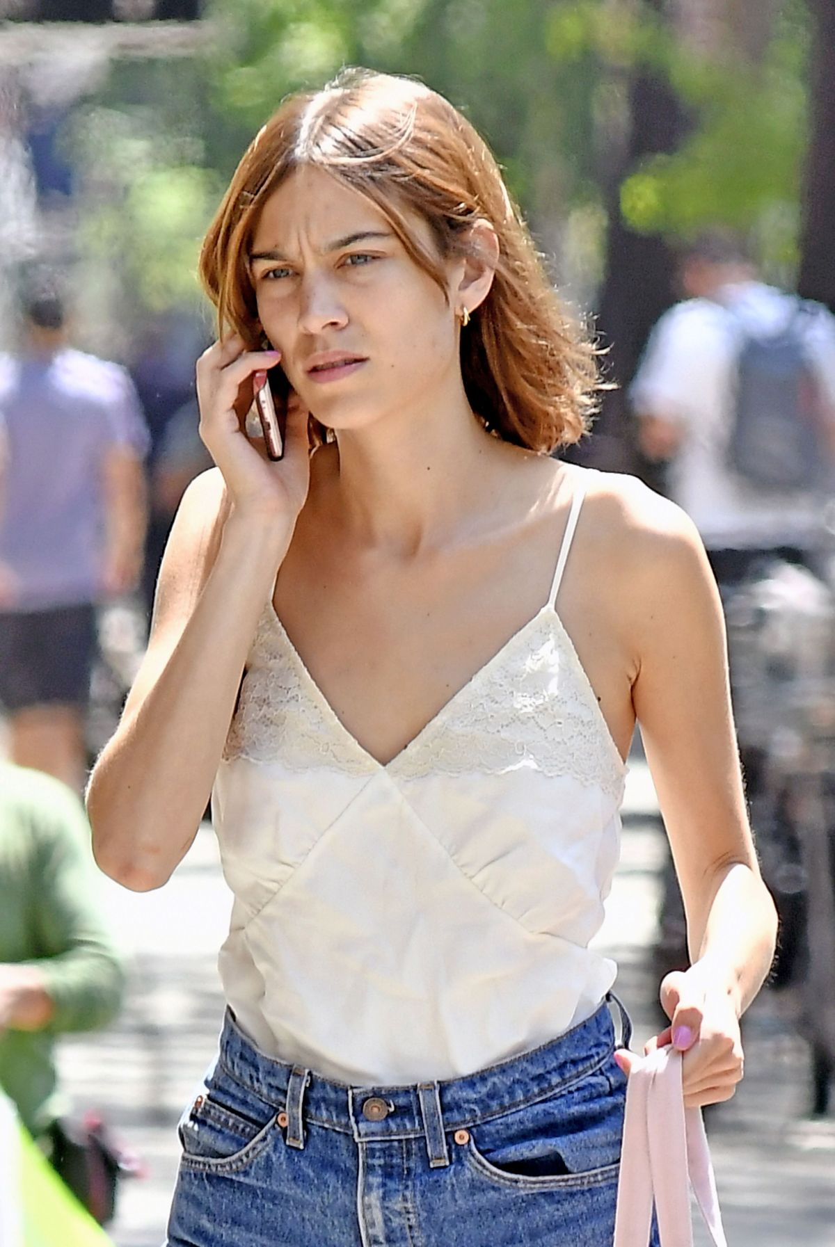 Alexa Chung Out In Nyc