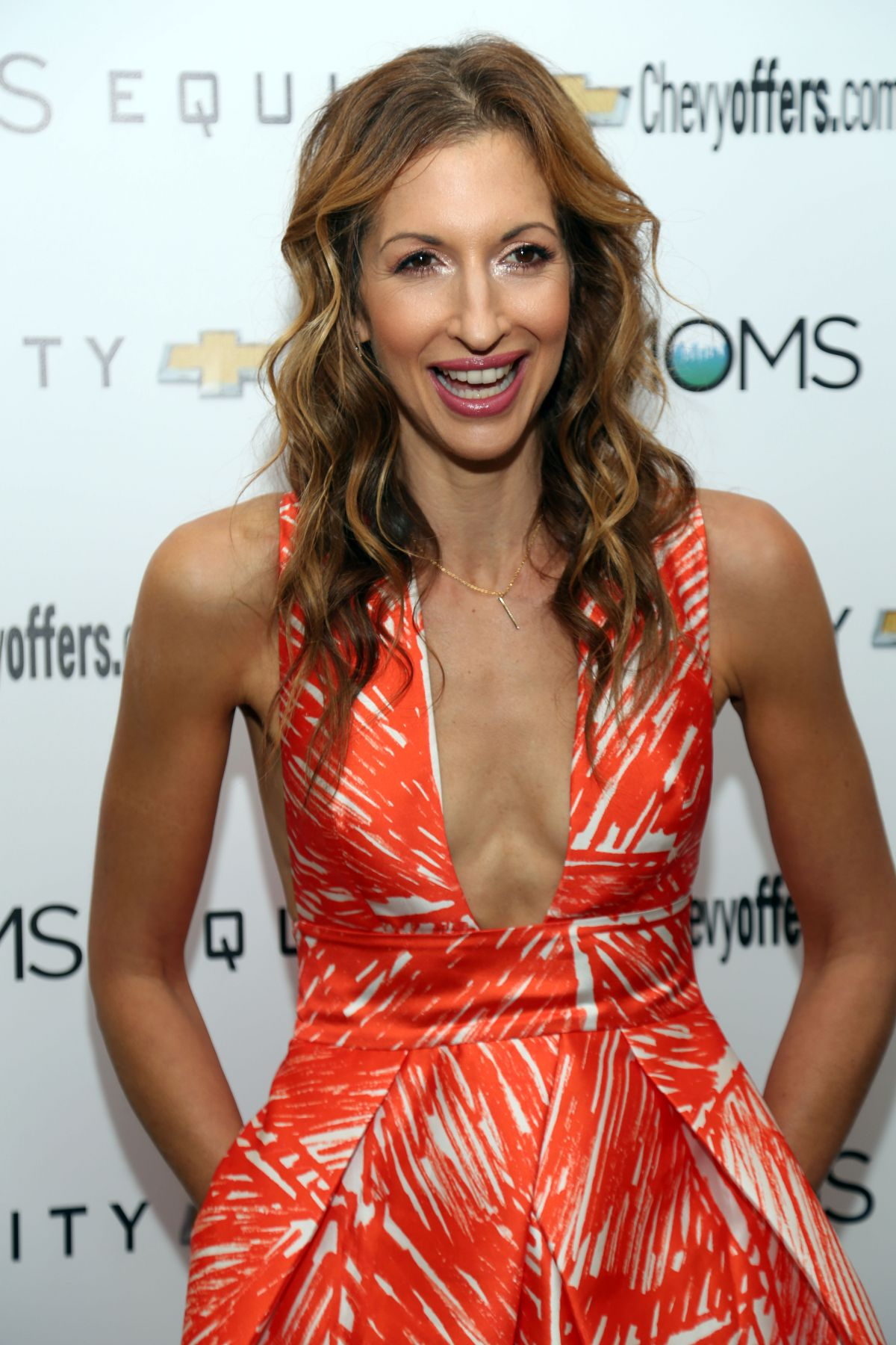 Alysia Reiner At Quot Mamarazzi Screening Of Equity At Crosby Street Theater In New York City