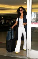 Camila Alves As she arrives home at LAX