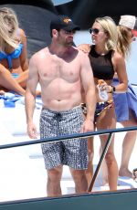 Carrie Underwood On the Beach in Cabo San Lucas