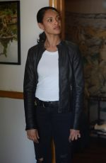 "Cynthia Addai Robinson At ""Shooter"" Promotional Photos"