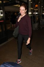Danielle Panabaker At LAX