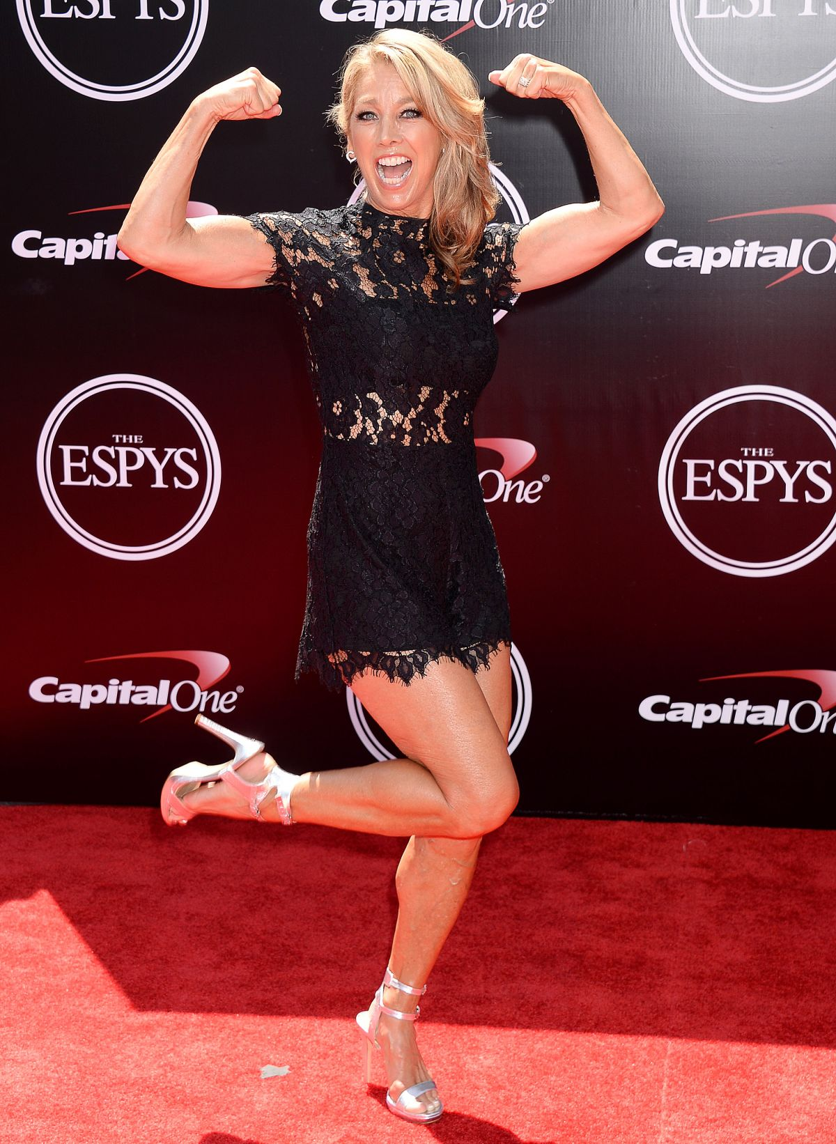 Denise Austin At ESPY Awards in Los Angeles